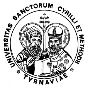 Logo UCM v Trnave, mladšej z dvoch trnavských univerzít